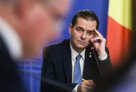 Guvernul Orban si-a asumat raspunderea in Parlament pe legile justitiei si transportul pentru elevi