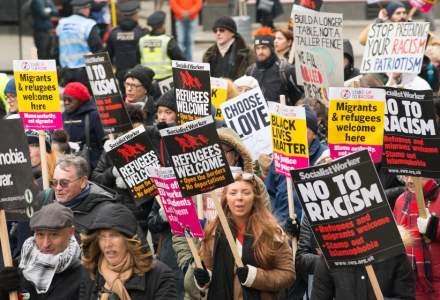 Mars de protest la Londra dupa victoria lui Boris Johnson: ''Nu e premierul meu''