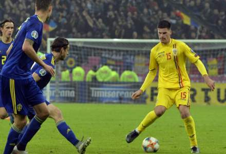 UEFA: Nu au existat manifestari rasiste la meciul Romania - Suedia, din preliminariile Euro 2020