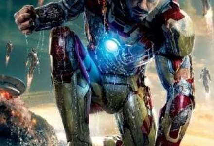 Iron Man 3, cel mai vizionat film in cinematografele romanesti in weekend