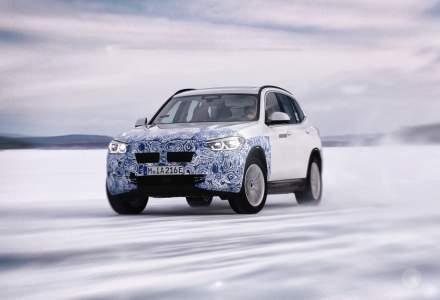Informatii oficiale despre viitorul BMW iX3: SUV-ul electric va avea aproape 290 CP si autonomie de peste 440 de kilometri