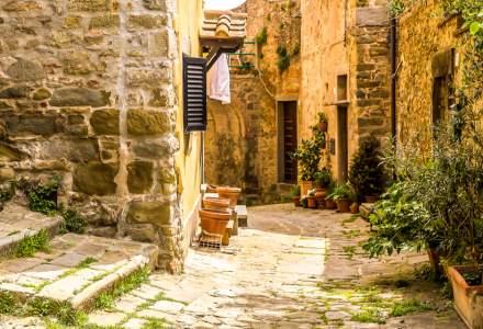 Harta caselor care se vand cu UN DOLAR in Italia. Care sunt conditiile pentru achizitionare?