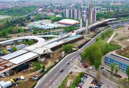 "Gabriela Firea spune ca Podul Ciurel va fi dat in folosinta ""in primavara anului viitor"""