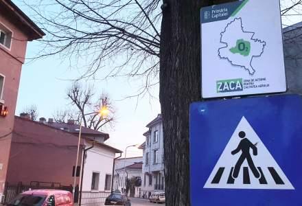 Primaria Bucuresti a montat indicatoarele ZACA in tot orasul. Din martie soferii vor fi verificati