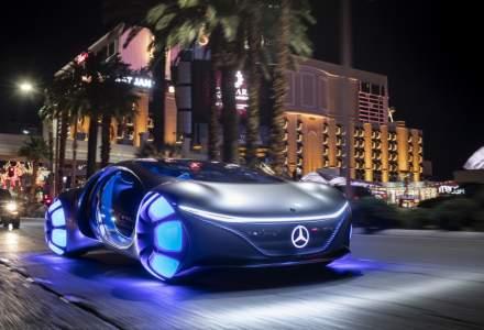 Mercedes-Benz Vision AVTR a fost prezentat la CES. Este inspirat de filmul Avatar