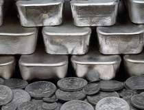 Pretul argintului, in picaj:...