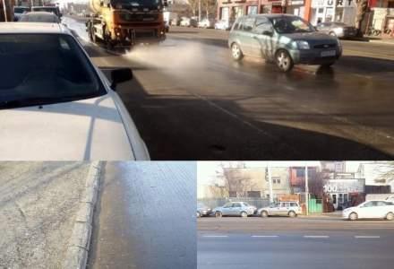 Vlad Voiculescu: Firea, in disperare, stropeste strazile cu o substanta interzisa