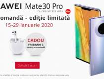 Huawei, campanie exclusiva de...