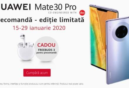 Huawei anunta o campanie exclusiva de precomanda pentru HUAWEI Mate 30 Pro