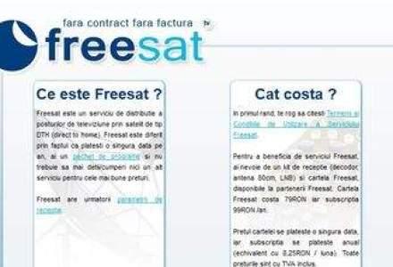 Tot mai mare concurenta pe DTH: Oradenii de la Freesat intra in competitie cu gigantii telecom