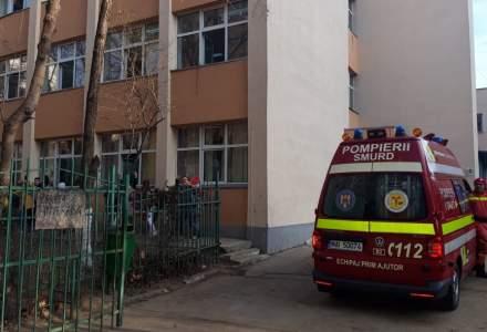 Scoala din Bucuresti, evacuata din cauza unui gaz toxic