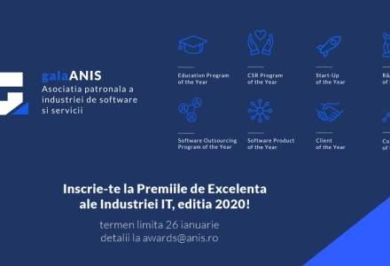 (P) Competitia ANIS pentru desemnarea celor mai importante proiecte ale industriei IT