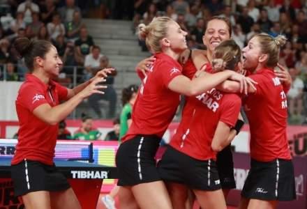 Tenis de masa: Echipa feminina a Romaniei s-a calificat la Jocurile Olimpice de la Tokyo