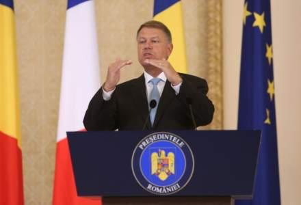 Klaus Iohannis, huiduit si aplaudat in timpul aceluiasi discurs