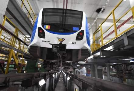 Metrorex incepe sa rezolve problema trenului deraiat in depoul Berceni la un an de la incident