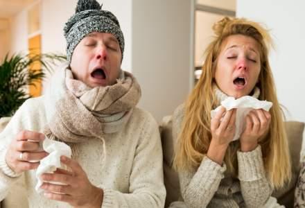 Epidemie de gripa la nivel national: 10 persoane au murit de la inceputul sezonului 2019-2020