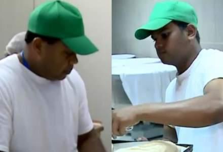 Cei doi brutari din Sri Lanka, scosi din procesul de productie a painii in brutaria din Ditrau