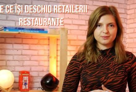 VIDEO retailDetail: De ce tot mai multe lanturi de retail isi deschid restaurante