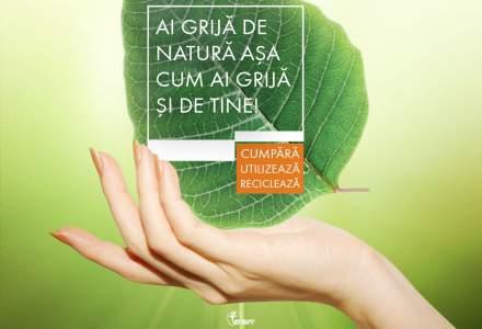 """Farmec lanseaza o campanie de responsabilitate sociala pentru reciclarea ambalajelor - """"Ai grija de natura asa cum ai grija de tine"""""""