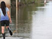 Inundatii in Romania: peste...