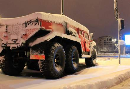 [Galerie Foto] Cum arata Bucurestiul sub prima zapada din aceasta iarna