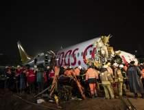 Un avion a iesit de pe pista...