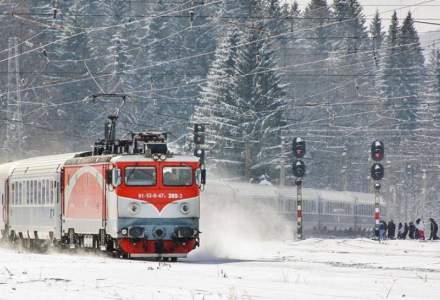 CFR Calatori: 8 trenuri anulate din cauza conditiilor meteo