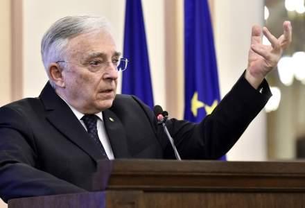 "Mugur Isarescu despre scaderea euro: Nu BNR a vandut! Un vanzator important s-o fi gandit ""pica Guvernul"""