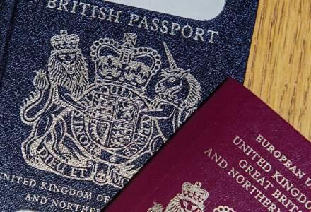 După Brexit, paşapoartele de culoare albastră revin în Marea Britanie