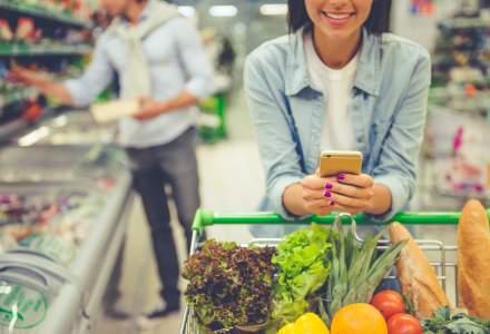 Consumul casnic a crescut în 2019 cu un ritm mai redus. Românii au cumpărat aceleași volume, însă au ales segmente inferioare de preț