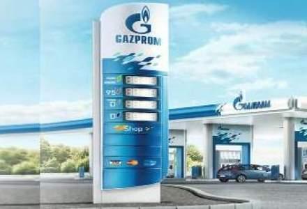 Gazprom inaugureaza o statie de distributie de carburanti pe Autostrada A1