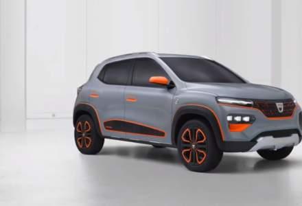 Primele imagini cu Dacia Spring, noua mașină electrică a producătorului auto