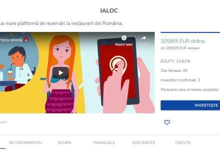 Platforma de rezervări online în restaurante, ialoc.ro, caută finanțare de 286.000 euro și se listează pe Seedblink