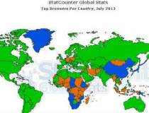 Harta celor mai populare...