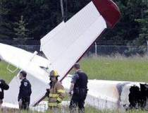 Zece morti, dupa ce un avion...