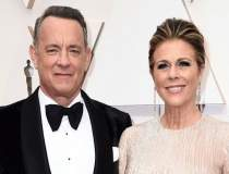 Actorii Tom Hanks si Rita...