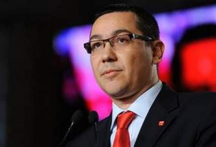 Ponta: Raportul intre salarii va ajunge la 1-7, dar va fi modificata si Legea functionarului