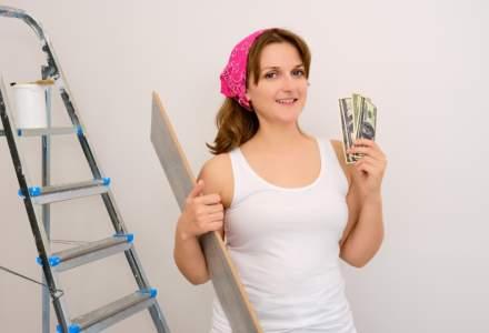 Proprietarii de locuințe noi alocă, în medie, 10.000 euro pentru amenajări