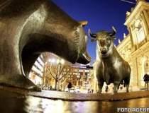 Bursa a scazut pentru prima...
