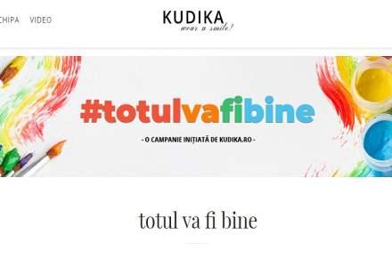 """Kudika.ro lansează inițiativa """"Totul va fi bine"""""""
