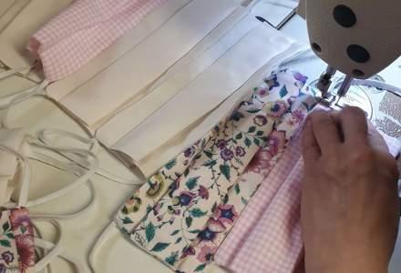Coronavirus   Atelierele de croitorie s-au reprofilat și confecționează măști de protecție. Unele dintre ateliere oferă gratuit măștile pentru cadrele medicale