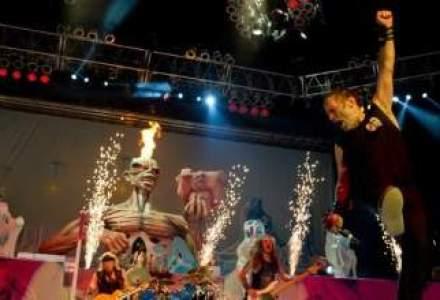 Iron Maiden a concertat la Bucuresti in fata a 15.000 de persoane