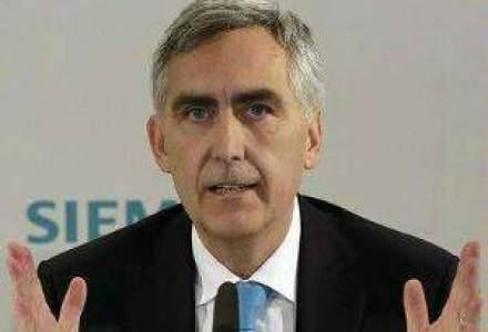 Directorul general al Siemens va fi schimbat cu patru ani inainte de terminarea mandatului