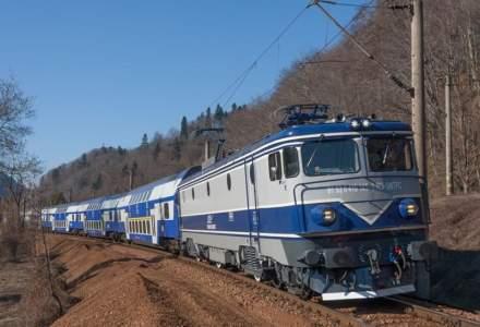Un tren a fost cuprins de flăcări în Arad. Pasagerii s-au evacuat la timp