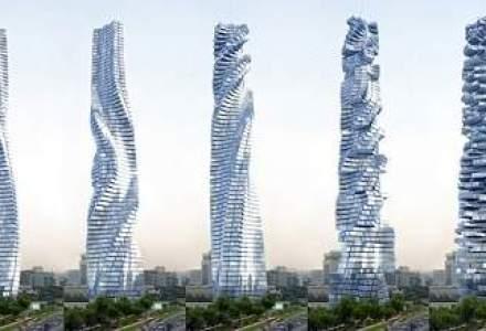 Arhitectii din Dubai planuiesc o cladire care se va roti la 360 grade