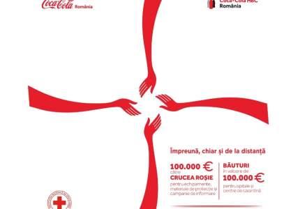 Coca-Cola România donează 200.000 de euro pentru echipamente medicale, precum și băuturi pentru spitale și centre de carantină