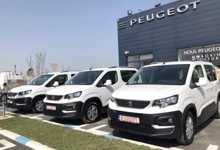 """Trust Motors oferă trei autovehicule PeugeotInstitutului Național de Boli Infecțioase """"Prof. Dr. Matei Bals"""""""