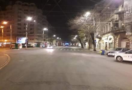 COVID-19   Stare de Urgență: Cum arată Bucureștiul în serile de carantină totală