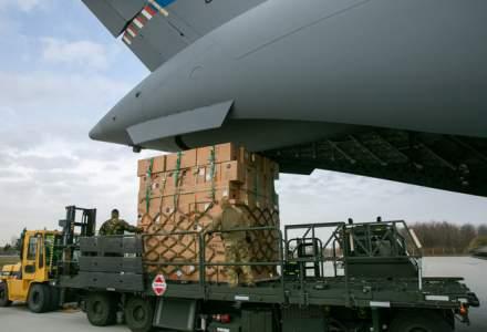 Ministerul Apărării Naţionale: Al doilea transport cu 45 de tone de echipament medical din Coreea de Sud a ajuns pe aeroportul Otopeni