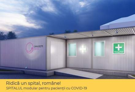 Coronavirus   Asociația Dăruiește Viață, donatorii, sponsorii și partenerii săi ridică un spital modular la Spitalul Elias